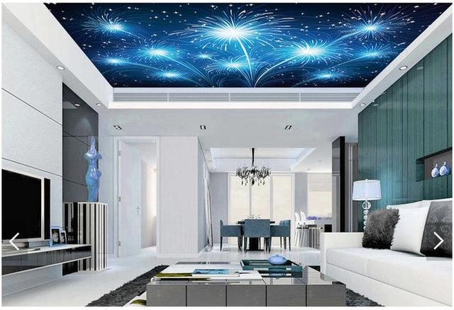 3d Tapety 3d Na Zlecenie Sufit Sufit Tapeta Murale Tapety Bright