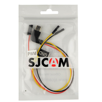 SJCAM AV Out Cable PWM RC Drone Cable For Aerial FPV For SJ6 Legend SJ7 Star