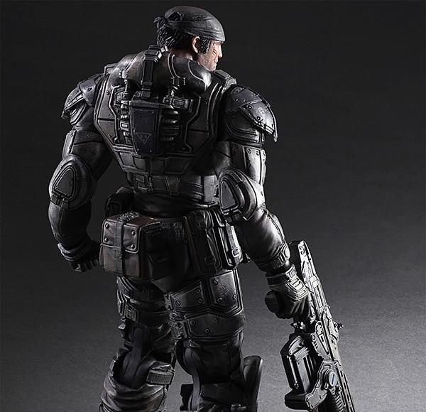Фигурка Маркус Феникс Gears of War 27 см Play Arts 2