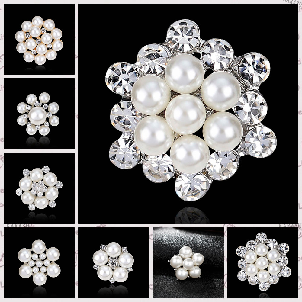 DIY Bouquet Bridal Wedding Accessories Simulated Pearl ...