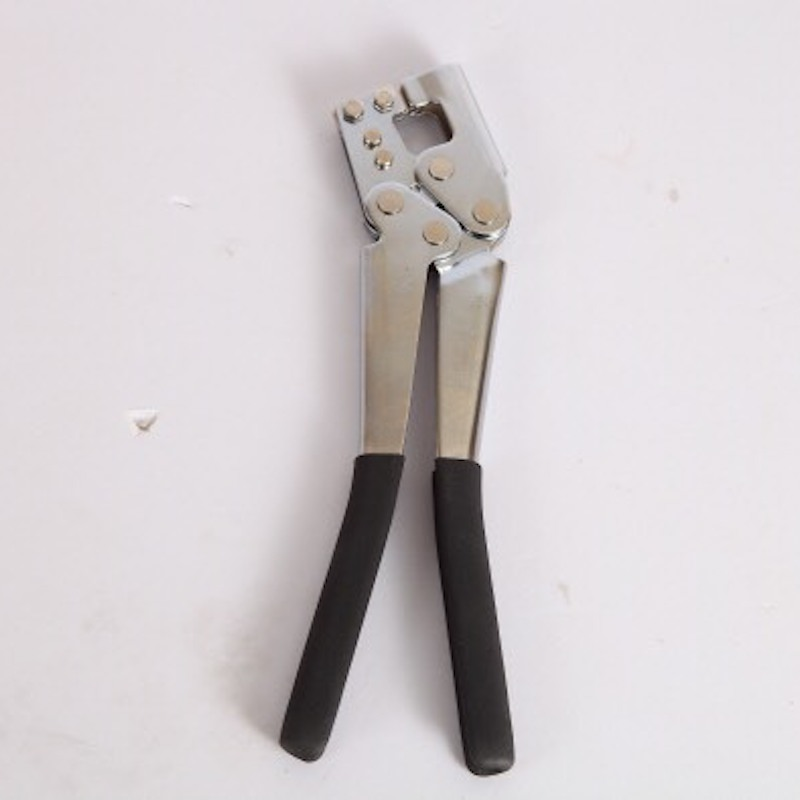 11 colių gipskartonio metalinių plieninių kanalų smeigės takelių gniuždymo smeigės Smulkintuvo perforatoriaus kištuko užraktas Sauso sienos perforatoriaus smulkintuvo rankinis įrankis