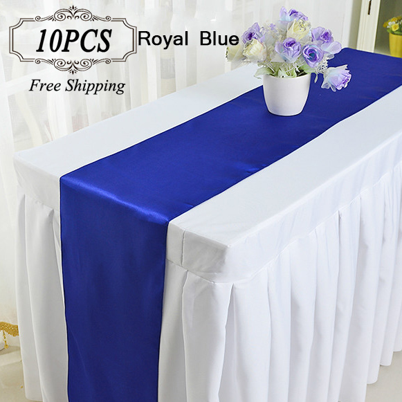 wedding decoration satin table