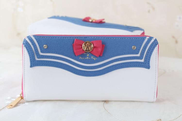 Sailor Moon 20th Anniversary Limited Edition Ladies Long Zipper Female Wallets Women PU Wallet Purse billetera sailor moon