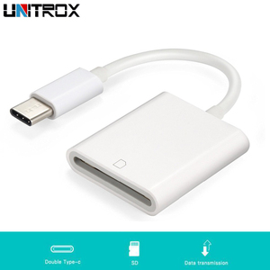 Image 1 - 2019 nouveau USB 3.1 Type C USB C à SD SDXC carte numérique caméra lecteur adaptateur câble pour Macbook téléphone portable Samsung Huawei Xiaomi