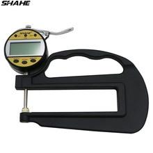 Цифровой толщиномер 0-25 мм 0,01 мм для измерения толщины ювелирных изделий, кожаной металлической пленки