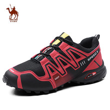 CAMEL JINGE Hiking Mens Shoes Anti-Sippery Hard-Wearing Climbing Sneakers Shoes Outdoor Walking Boots Zapatillas Trekking Hombre автокресло siger мякиш плюс art сказ 22 36 кг