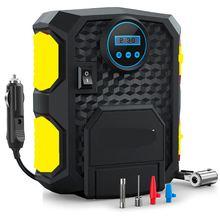 Предустановочный цифровой дисплей автомобильный насос для шин