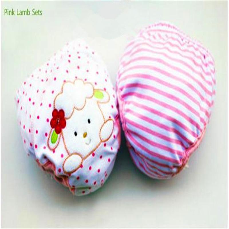 2 unids / lote 4 Capas Impermeable Paño Del Bebé Pañales Boy - Pañales y entrenamiento para ir al baño - foto 5