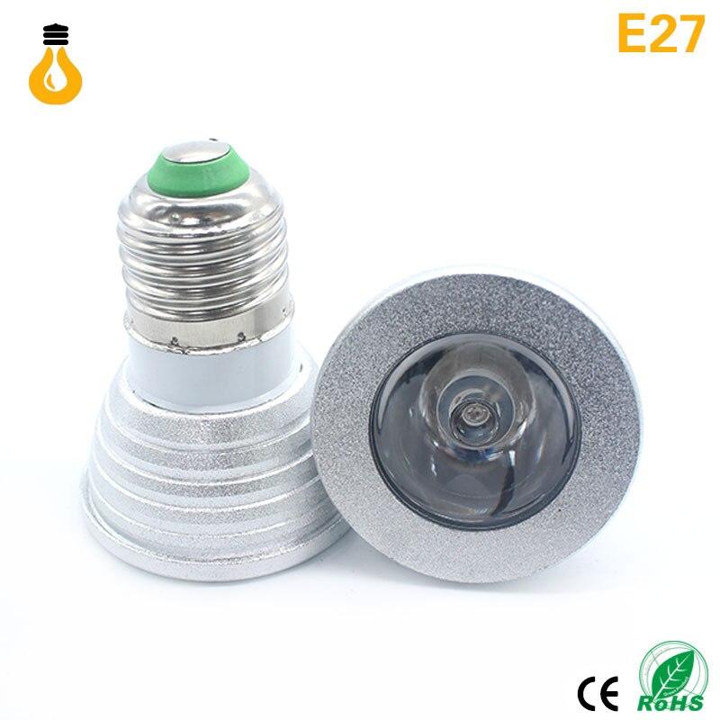 TELECOMMANDE GU10 220V 9W ECLAIRAGE DECORATION 16 COULEURS RGB 1 AMPOULE LED