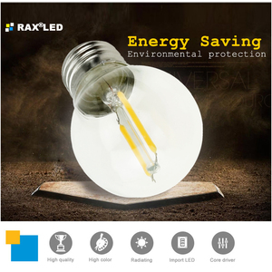 Image 2 - Lampada E27 LED Filament Light Dimmable Glass Blub Lamps 220V LED Edison chandelier E14 G45 240V Vintage Led Bulb 4W 8W 12W