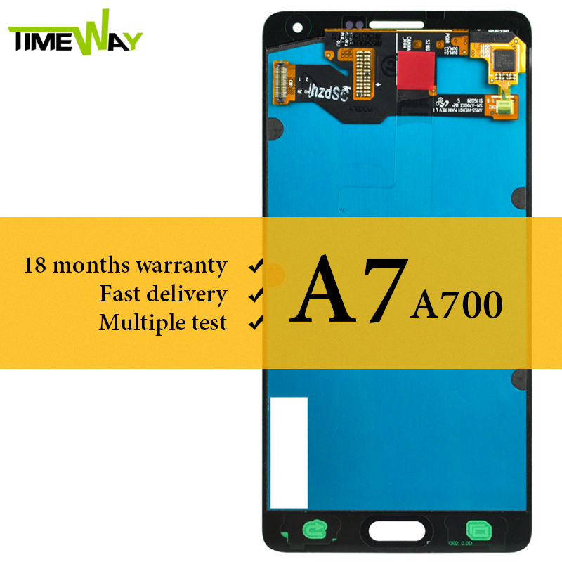 100 AMOLED Screen For Samsung A7 2015 A700 LCD Display 5 5 Inch Assembly With Touch