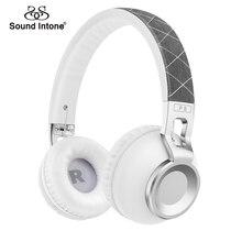 Sonido Entonan Auricular Inalámbrico Bluetooth Estéreo de Audio Para Auriculares Tarjeta TF de la Ayuda y Función de Llamada Manos Libres Auriculares para MP3