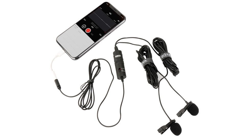 boya by-m1dm dual lavalier universal microphone price in Bangladesh