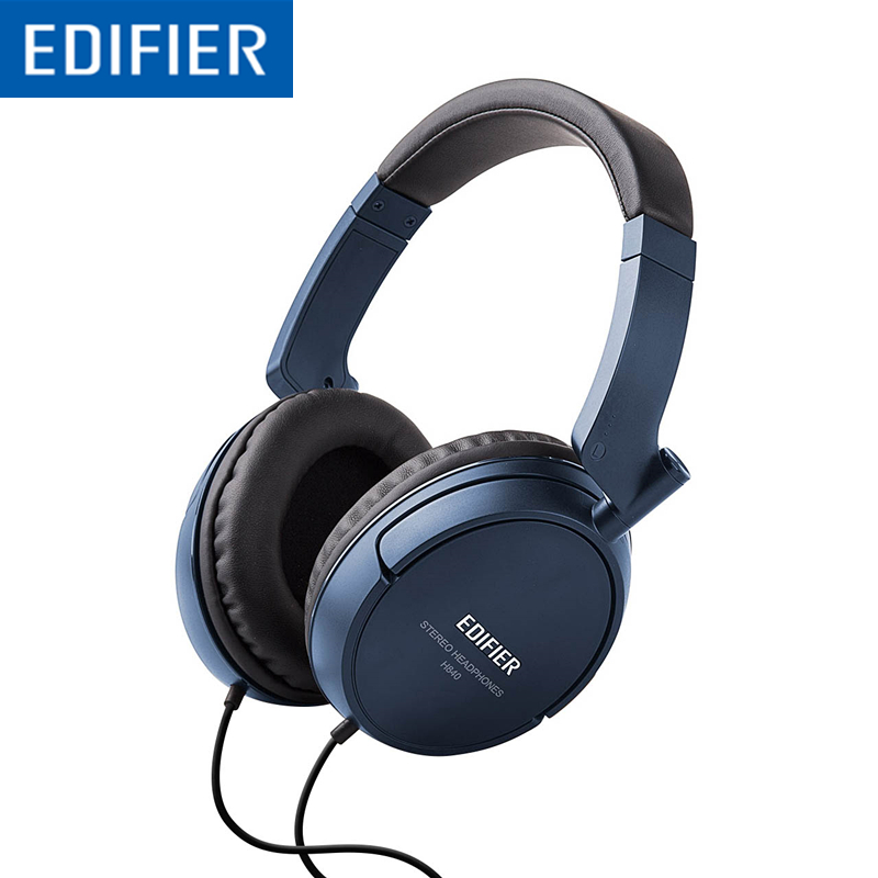 Edifier H840 Audiophile Over The Ear Headphones Hi Fi Over Ear Noise Isolating Audiophile Closed Monitor