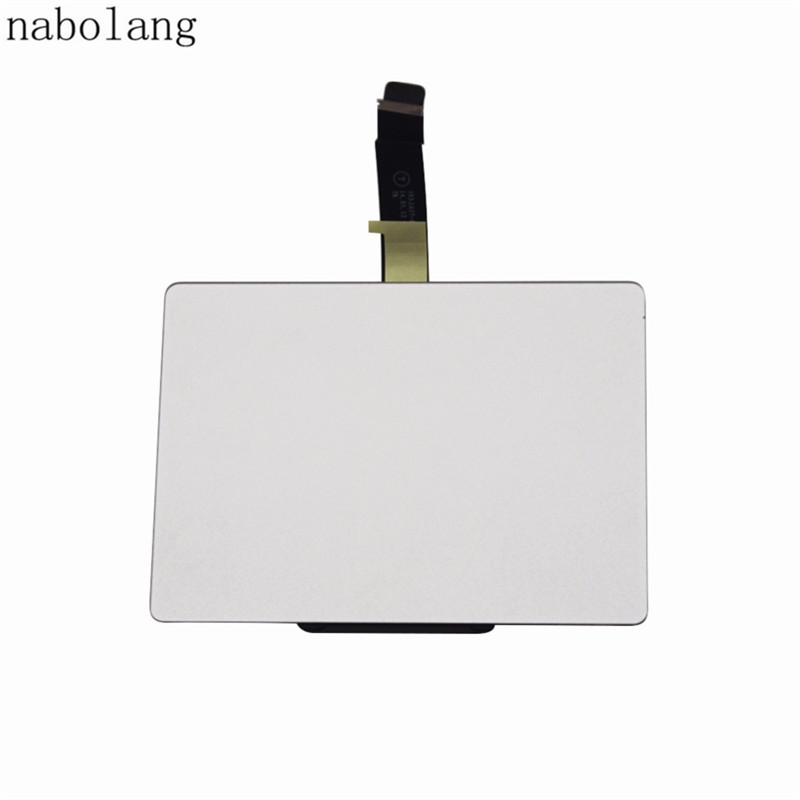 Nabolang Sliver Trackpad Touchpad Touch Panel For Macbook Pro 13 Retina A1502 2013 2014 Laptop genuine new 593 1604 b 923 0441 for macbook air 13 inch a1466 trackpad touchpad ribbon flex cable 2013 2014 2015 year