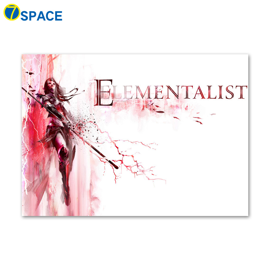 7-Space ELEMENTALLST Wall Art Canvas Painting Posters And Prints Nordic Poster Wall Pictures For Living Room Quadro Decoration