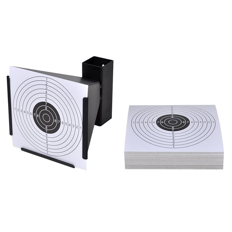 100 Pack Air Shot Paper Targets 5 5 x 5 5inch for Paintball and BB Gun Shooting in Wallpapers from Home Improvement