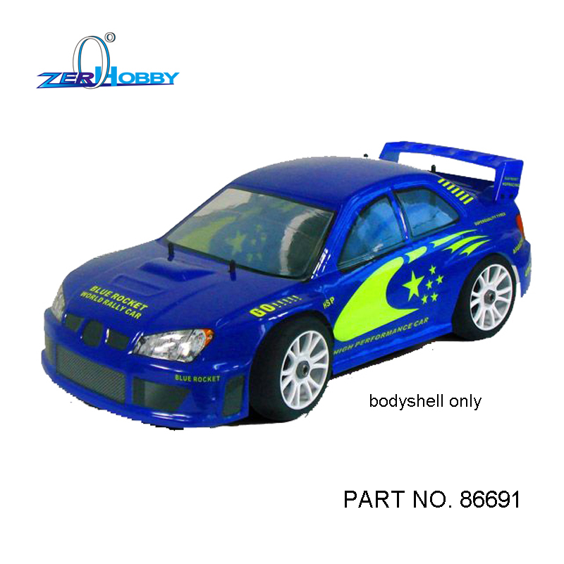 HSP 1/8 On-road Rally Racing Body for Hobby Remote Control RC Car Electric/Nitro Robot Control Remote Car Body Shell 86691 86692 82910 ricambi x hsp 1 16 282072 alum body post hold himoto 1 16 scale models upgrade parts rc remote control car accessories