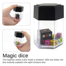 Big Explode Explosion Dice Close Up Magic Trick Toys Magic Props Funny Joke Prank Toy Children Kids Gift magic trick funny eyes glasses black