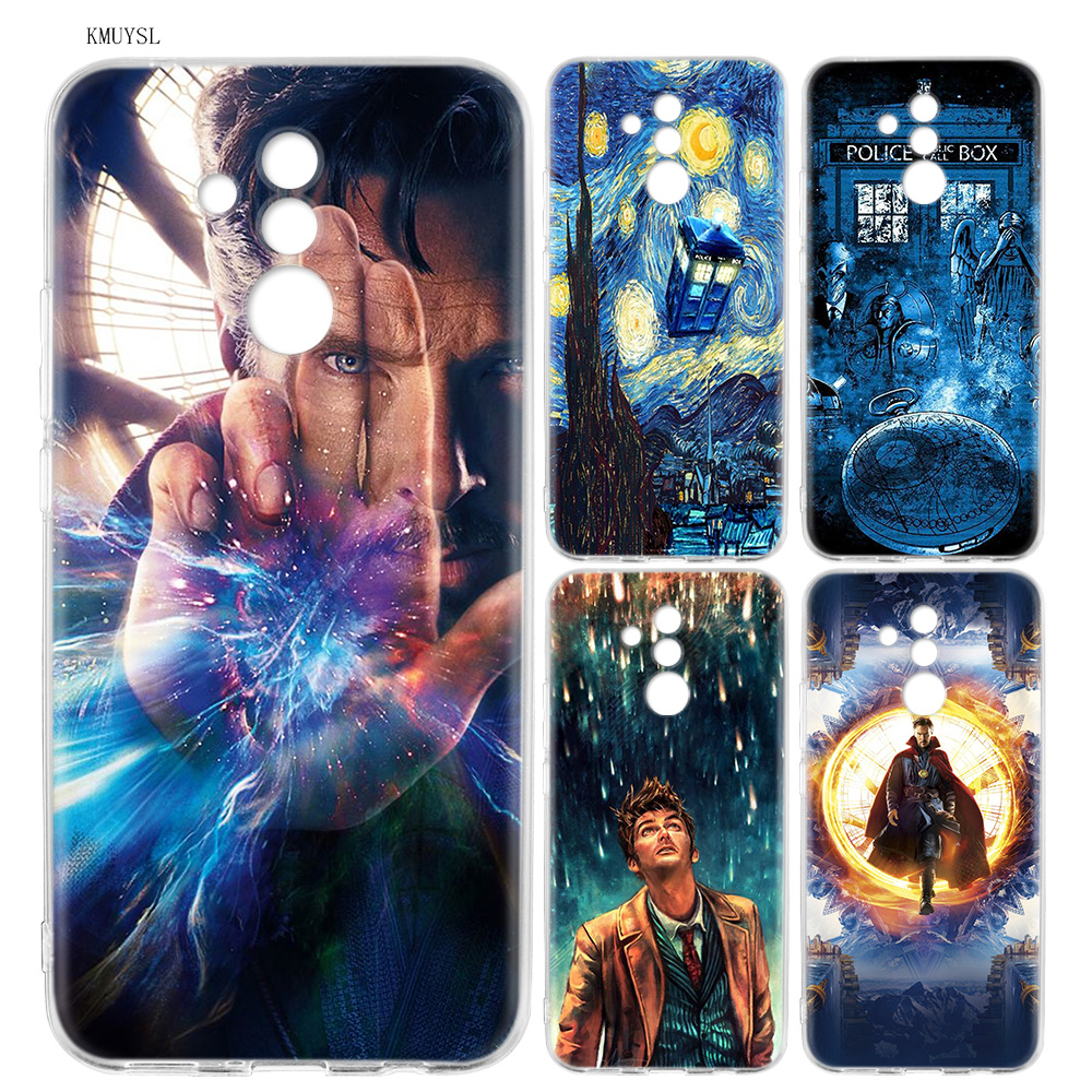 Fitted Cases Yimaoc Tardis Box Doctor Who Soft Silicone Case For Huawei Y7 Y6 Prime Y9 2018 Honor 8c 8x 8 9 10 Lite 7c 7x 7a Pro Flower Cover Cellphones & Telecommunications