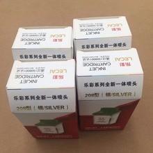 Free shipping! 6PCS Encad  novajet 750 printer lecai silver 208 ink cartridge printhead print head