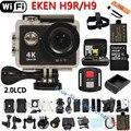 Оригинальная экшн-камера H9 / H9R  со сверхвысоким разрешением Ultra HD, 4K  WiFi с дистанционным управлением, go профессиональная водонепроницаемая pro видеокамера для занятий спортом,  DVR(устройство цифровой записи)