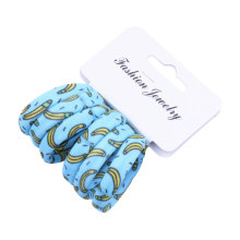 6PCS/Lot Girls Cute Color Hair Band Print Dot Lovely Elastic Headband Holder Accessories