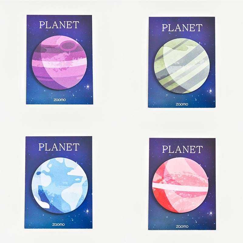 Милая планета N Times блокнот Липкие заметки Kawaii Dialog Закладка канцелярская этикетка наклейки Школьные принадлежности блокнот escolar