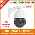 Мини 4 inch Ближний Speed Dome Ip Камеры 4-кратный Зум Hd 1080 P Открытый Ночного Видения Водонепроницаемый Белый Мобильный Монитор Веб-Камера Горячая продажа