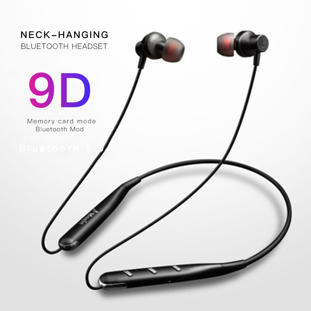 755tf Neckband Wireless Bluetooth Earphone Pluggable Card Abs Material Headset With Mic Hd Stereo Sports V5 0 Bluetooth Headsets Buy At The Price Of 10 19 In Aliexpress Com Imall Com