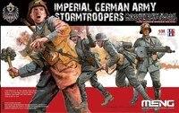 Gleagle1/35 German Empire Army Commandos Storm 4 Soldiers HS 010