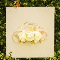 Wedding Invitation Vintage Wedding Bridal Shower Gift Greeting Card Party Supplies Decoration Wedding Supplies