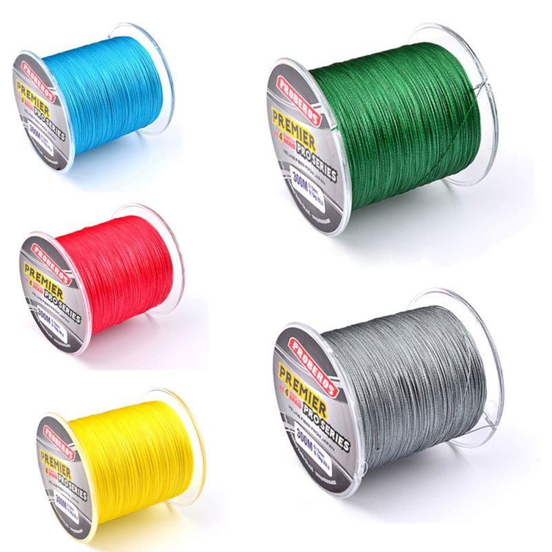 цена на New 300M Fishing Lines PE Multifilament Braided Fishing Line Super Strong Fishing Line Rope 4 Strands Carp Fishing Rope Cord