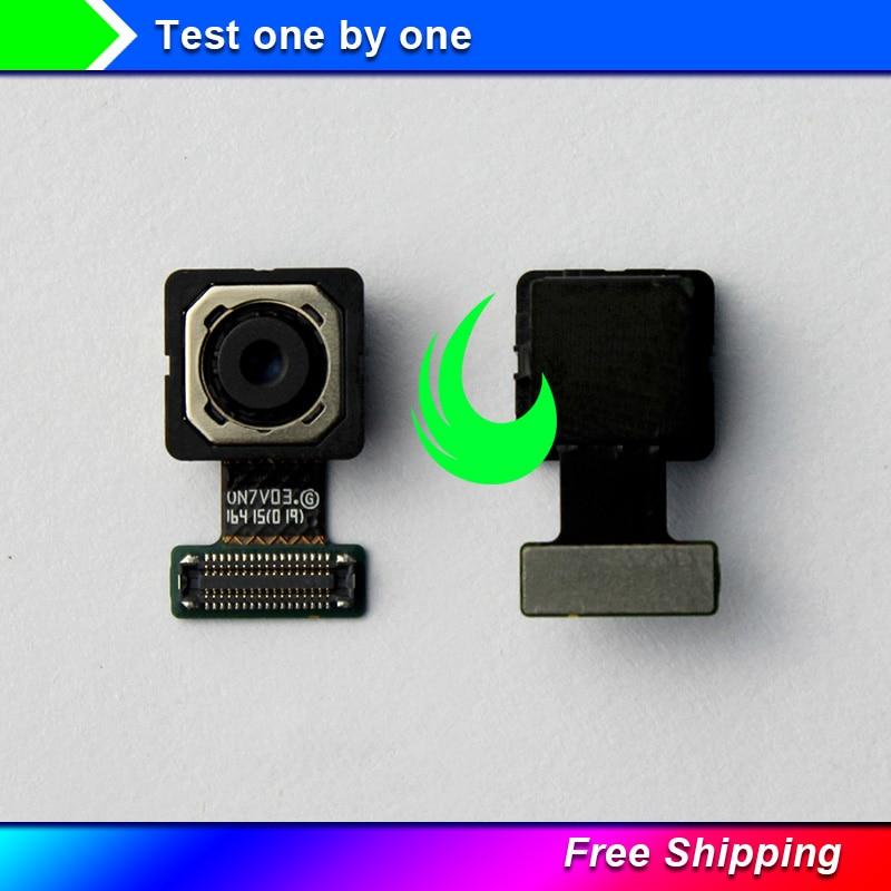 Original For Samsung Galaxy J5 Prime On5 G570 J7 Prime On7 G610 13MP Rear Big Back Camera Flex Cable Main Camera Module +Track