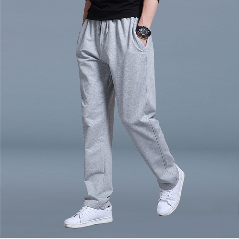 Elastic Waist Sweatpants Male