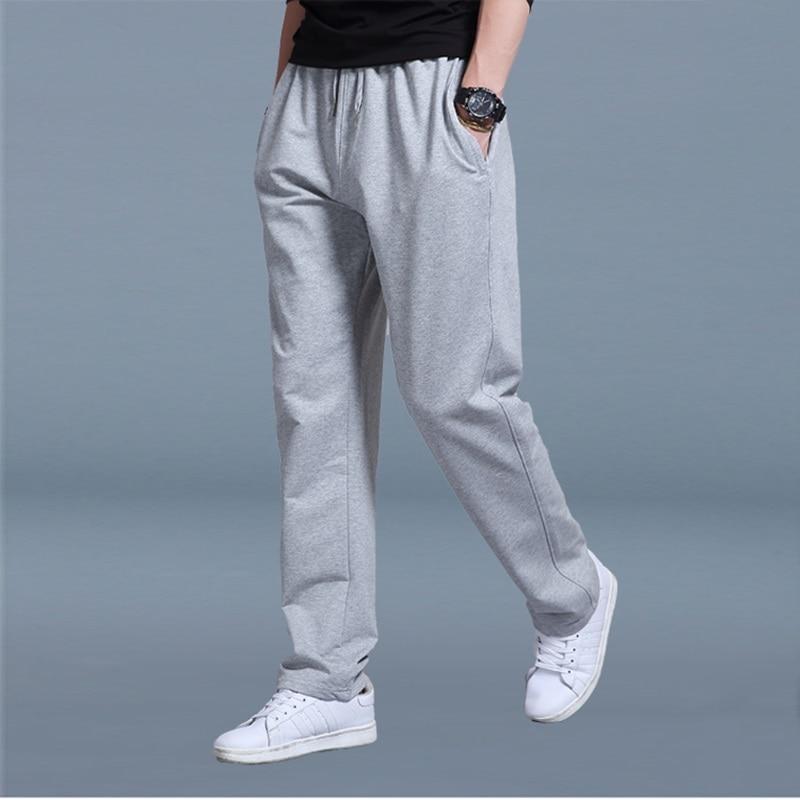 Elastic Waist Sweatpants Male