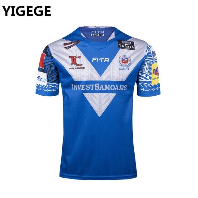 14d96ef7d3d New Zealand SAMOA rugby Jerseys 2017 World Cup Rugby League shirt nrl jersey  samoa shirts s-3xl