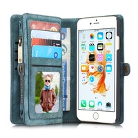 PRO 6 Luxury Genuine Leather Case For Apple IPhone 6 Case Wallet Flip Phone Bag Cases