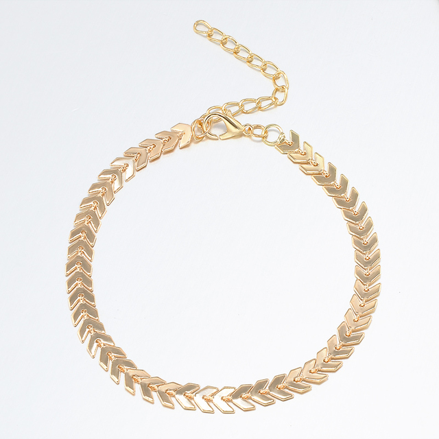 Simple Style Anklet