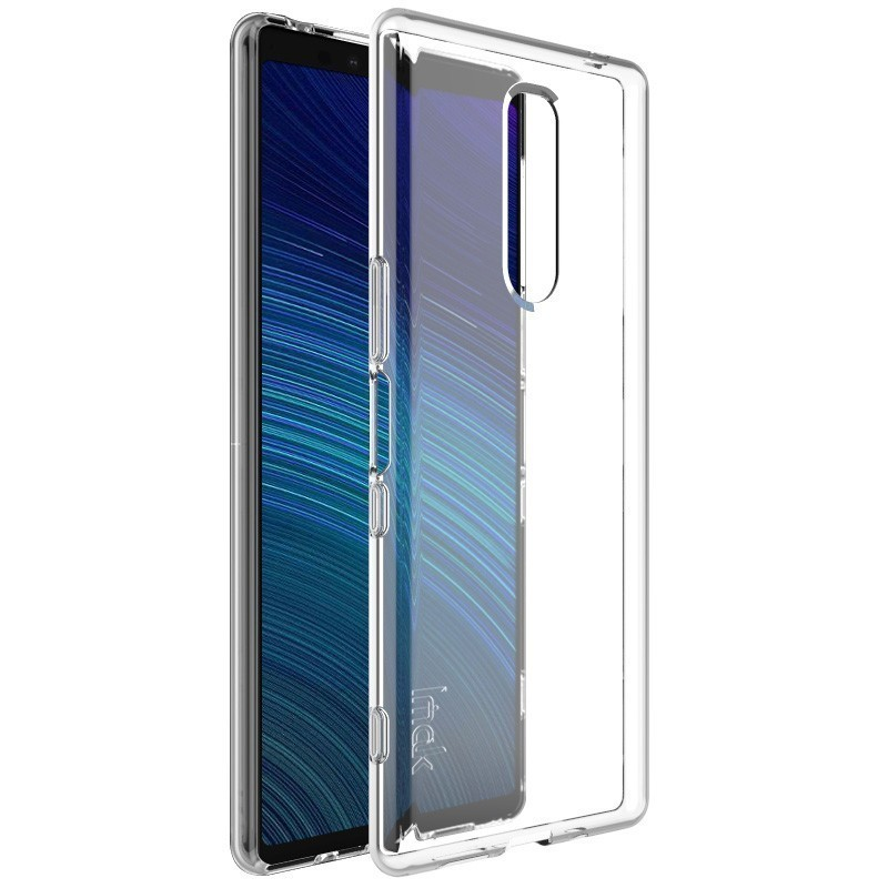 <font><b>Case</b></font> for Sony <font><b>Xperia</b></font> <font><b>1</b></font> Cover IMAK <font><b>1</b></font>.3mm Thickening Type UX-5 Series Shockproof Soft TPU Back Cover for Sony <font><b>Xperia</b></font> <font><b>1</b></font> <font><b>Case</b></font> image