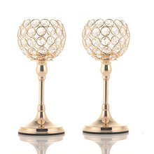 Crystal Tealight Candle Holders Great for Decoration