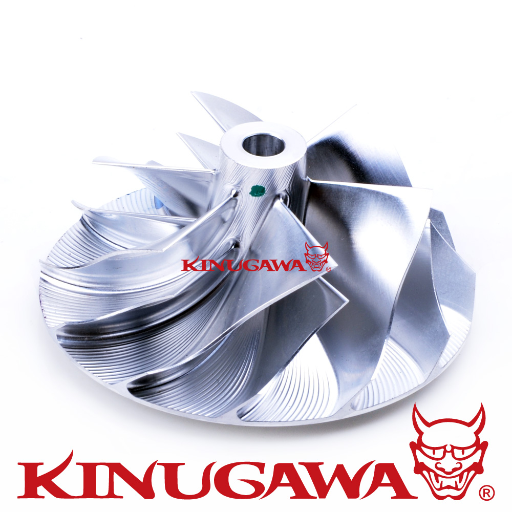 Kinugawa توربو الخام ضاغط عجلة 52.56/68.01 ملليمتر 7 + 7 عكس لميتسوبيشي TD05HR TD06SL2R 20 جرام evo 4-9