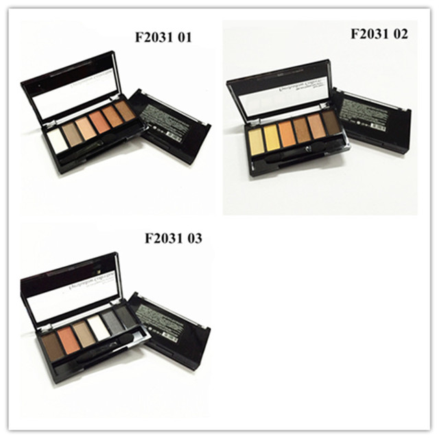 ZD 4Pcs Matte Shimmer Eyeshadow Palette 24 Colors Smoky