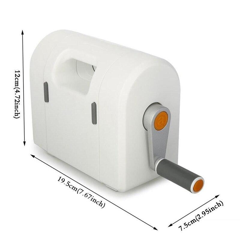 Высечка выбивая машина Скрапбукинг резак кусок высечки бумаги Резак высечки дома тиснение DIY Инструменты