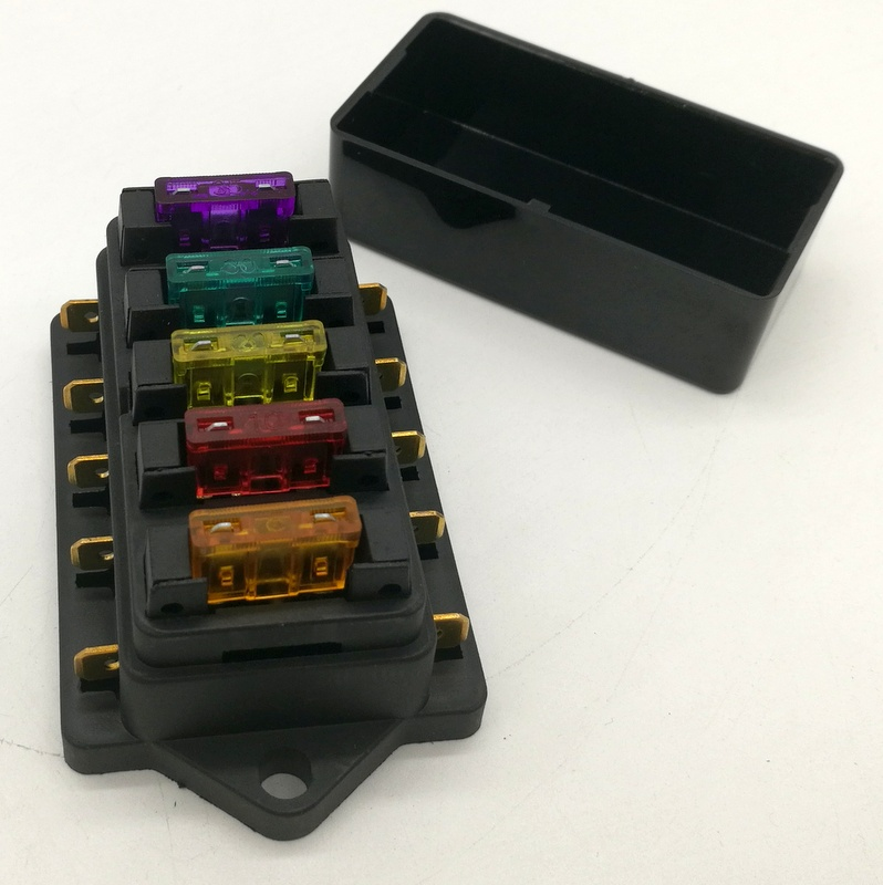 us $3 5 12v 24v 4 way 5 way car truck auto blade fuse box holder circuit standard ato free blade fuse in fuses from home improvement on Knob and Tube Wiring