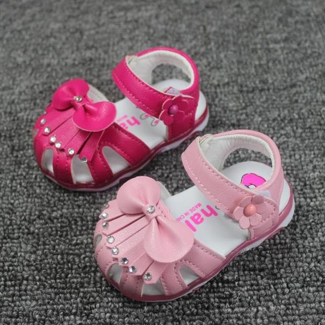 Baby Girls Sandals Summer Shoes Kids Baby Fashion Sparkling Tassel Sandals Child Baby Toddler Shoes 0 - 1 - 2 Years sandals