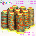Nylon Thread 2016 NEW 0.3/0.5/0.8/1.0MM 230m colorful options line/wire/rope choker earrings Bracelet necklace jewelry making