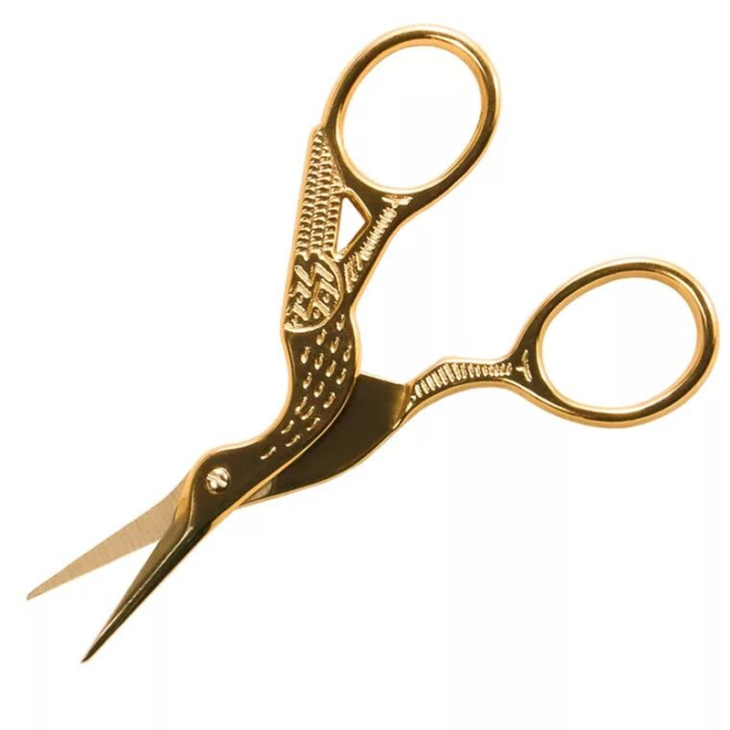 1pcs Gold Color Beaked Design Stainless Steel Cuticle Clipper Manicure Pedicure Care Trim Plier Cutter Nail Art Tools