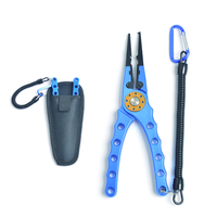 Aluminum Fish Fishing Pliers Saltwater Braid Cutter Hook Line Remover Tackle Kits 20cm Fishing Lip Grips