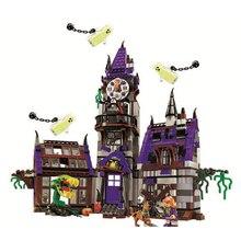 Бела 10432 Совместимость Scooby Doo цифры Mystery Mansion 75904 Строительные кирпичи развивающие игрушечные лошадки для детей